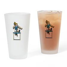 Women's Hurdles Drinking Glass