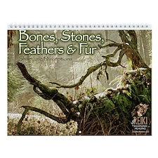 Bones, Stones, Feathers & Fur I Wall Calendar