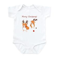 Corgi Christmas - Baby Bodysuit