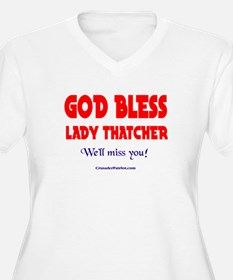 LADYTHATCHER3 Plus Size T-Shirt
