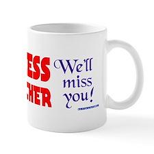 LADYTHATCHER4 Small Mug