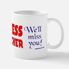 LADYTHATCHER4 Small Small Mug