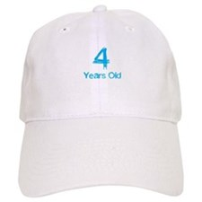 4 Years Old Baseball Baseball Cap