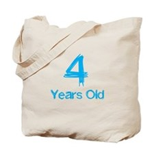 4 Years Old Tote Bag