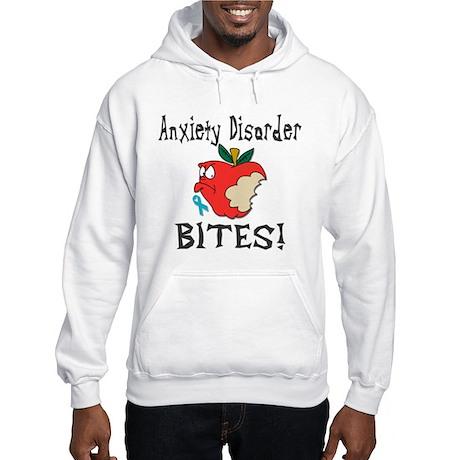 Anxiety Disorder Bites Hooded Sweatshirt