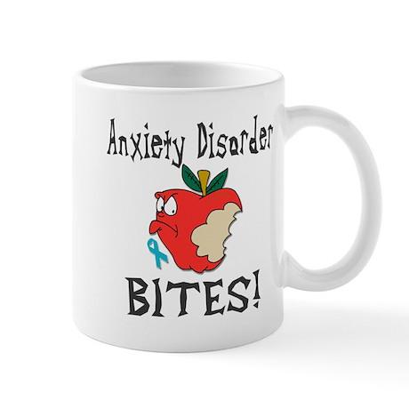 Anxiety Disorder Bites Mug