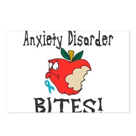 Anxiety Disorder Bites Postcards (Package of 8)