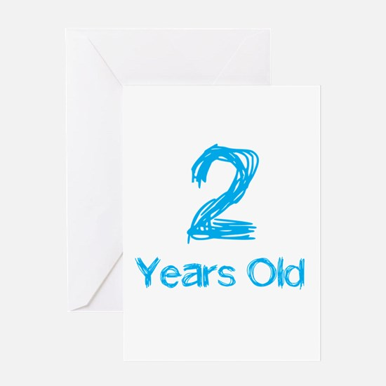 2 Years Old Greeting Card