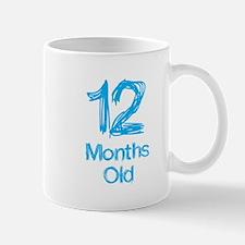 12 Months Old Baby Milestones Mug