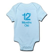 12 Months Old Baby Milestones Body Suit