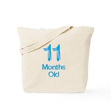 11 Months Old Baby Milestones Tote Bag