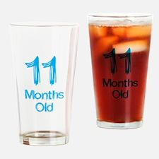 11 Months Old Baby Milestones Drinking Glass