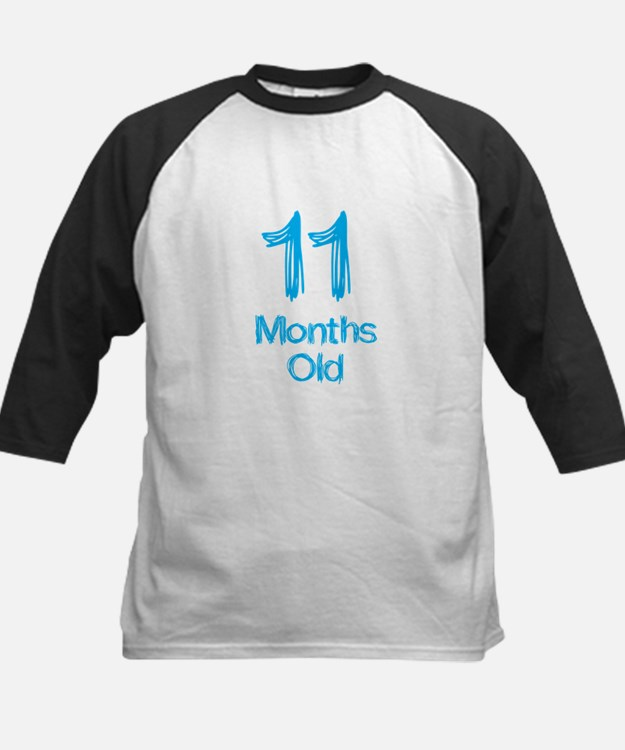 11 Months Old Baby Milestones Baseball Jersey