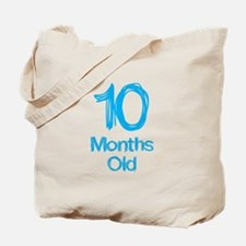 10 Months Old Baby Milestones Tote Bag