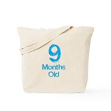9 Months Old Baby Milestone Tote Bag