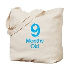 9 Months Old Baby Milestone Tote Bag