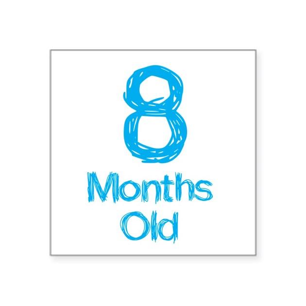 8 months old baby milestones sticker by mightybaby