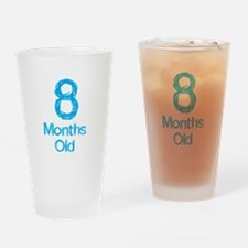8 Months Old Baby Milestones Drinking Glass