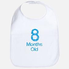 8 Months Old Baby Milestones Bib
