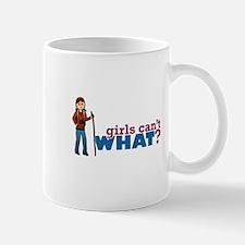 Girl Hiking Mug