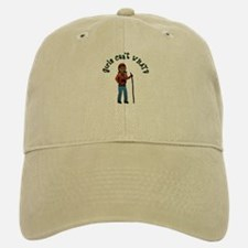 Girl Hiker Baseball Baseball Cap