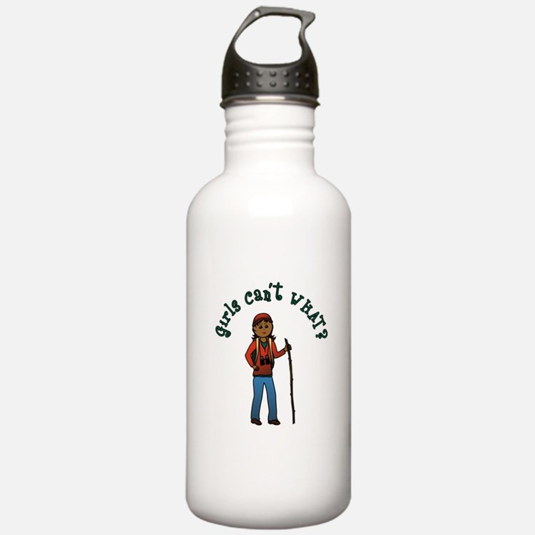 Girl Hiker Water Bottle