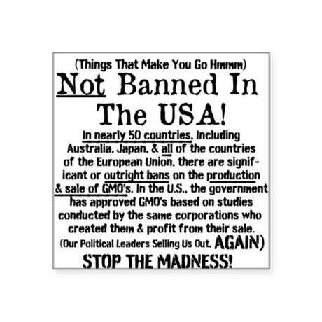 Not Banned In The USA! Sticker
