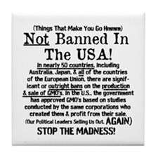 Not Banned In The USA! Tile Coaster