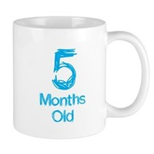 5 Months Old Baby Milestones Mug