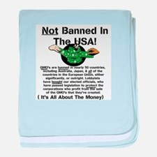 Not Banned In The USA! baby blanket