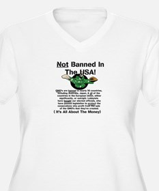 Not Banned In The USA! Plus Size T-Shirt