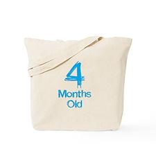 4 Months Old Baby Milestones Tote Bag