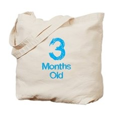 3 Months Old Baby Milestone Tote Bag