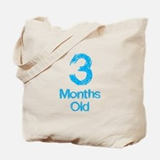 3 Months Old Baby Milestone Tote Bag