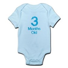 3 Months Old Baby Milestone Body Suit