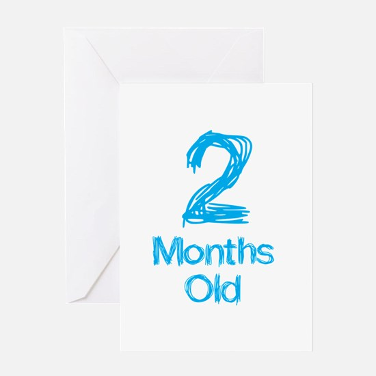2 Months Old Baby Milestone Greeting Card