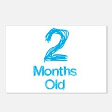2 Months Old Baby Milestone Postcards (Package of