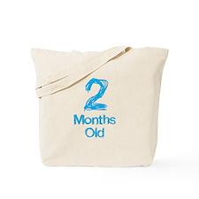 2 Months Old Baby Milestone Tote Bag