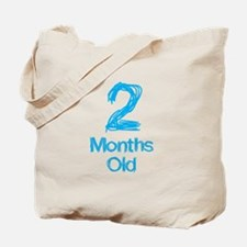 2 Months Old Baby Milestone Tote Bag