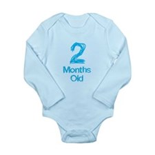 2 Months Old Baby Milestone Body Suit