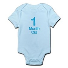 1 Months Old Baby Milestones Body Suit