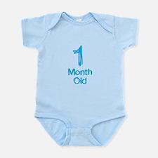 1 Months Old Baby Milestones Body Suit