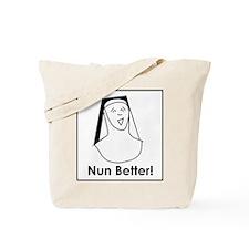 Unique Catholic humor Tote Bag