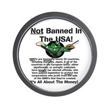 Not Banned In The USA! Wall Clock
