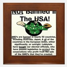 Not Banned In The USA! Framed Tile