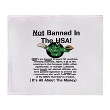 Not Banned In The USA! Throw Blanket