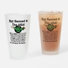 Not Banned In The USA! Drinking Glass