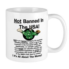 Not Banned In The USA! Small Mug