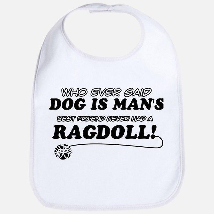 Ragdoll Cat designs Bib