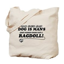 Ragdoll Cat designs Tote Bag